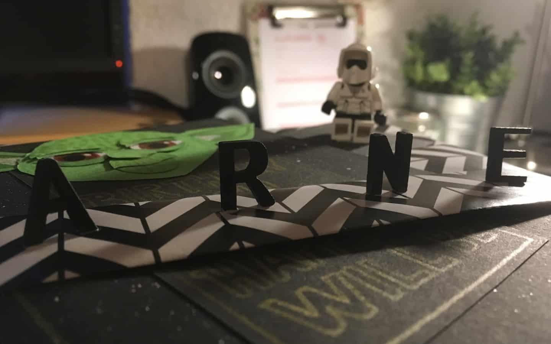 Star Wars Geburtstagskarte Imperiale Glückwünsche